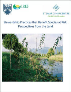 Stewardship Practices that Benefit Species at Risk-2016